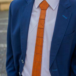 """Drevená pánska kravata Classic mahagón """"MARKstyle"""""""