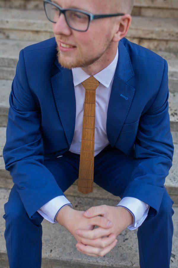 "Drevená pánska kravata Classic orech ""MARKstyle"""