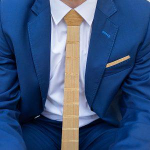 """Drevená pánska kravata Classic dvojfarebná """"MARKstyle"""""""