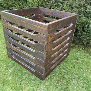 Drevený kompostér s vetrákmi 2